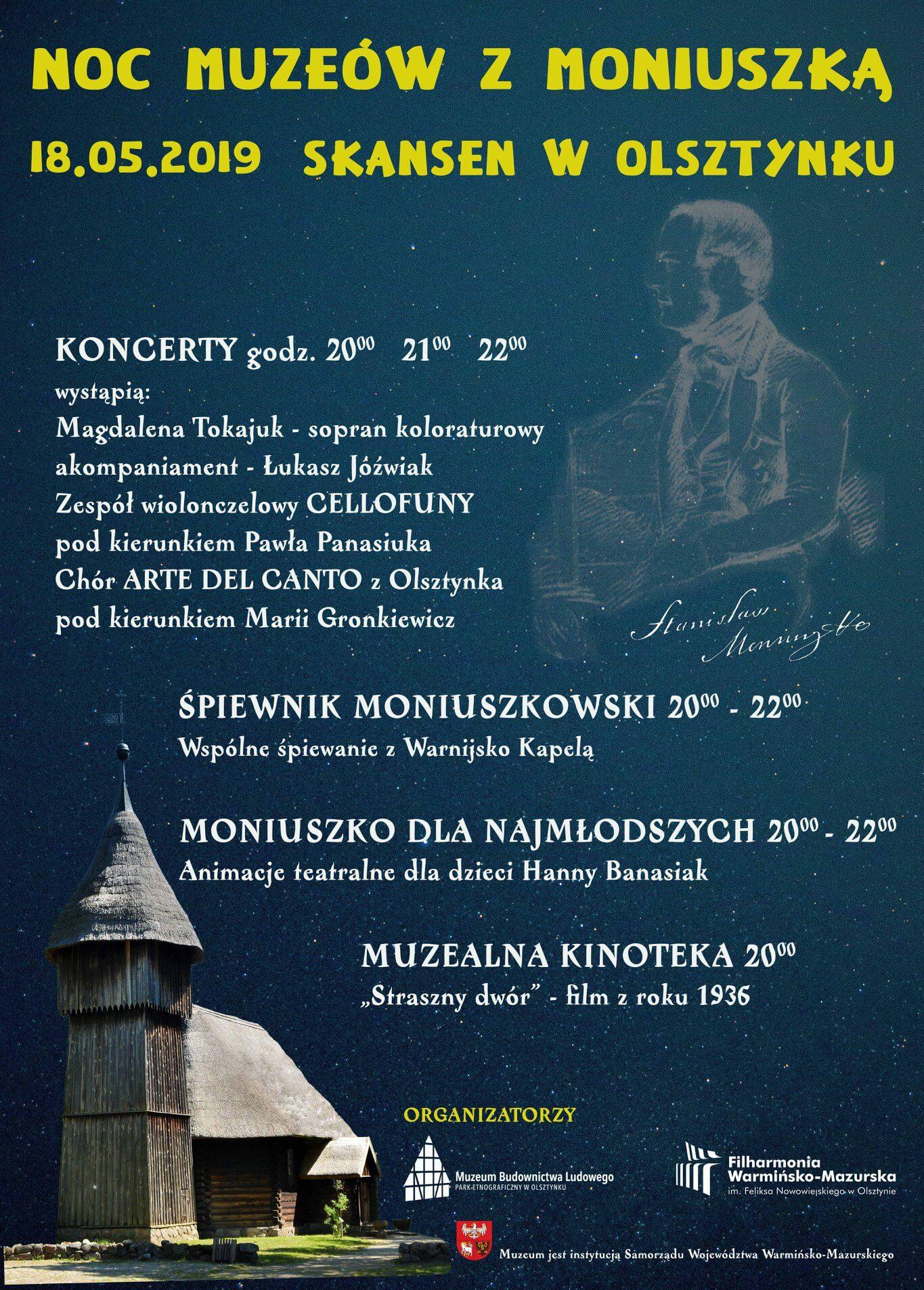 Noc Muzeów w Skansenie w Olsztynku